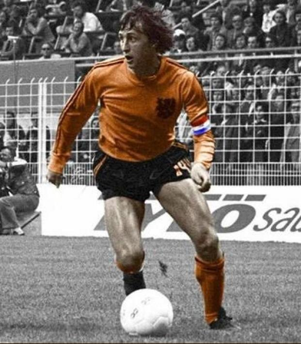 Johan Cruyff 1974 World Cup highlights