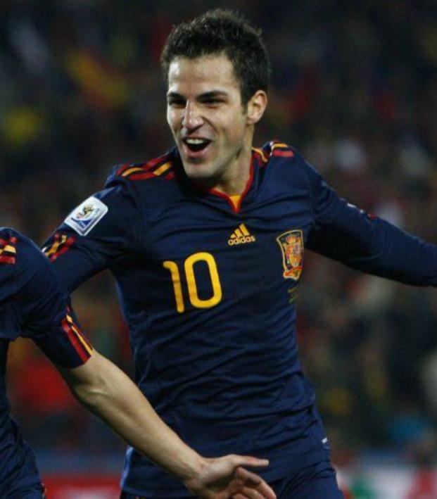 Cesc Fabregas and David Villa World Cup recall