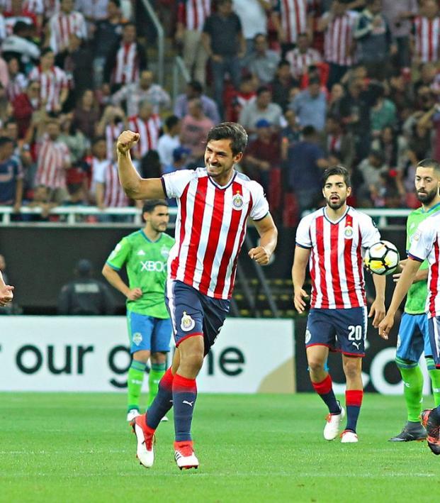 Oswaldo Alanis Goal vs Seattle Sounders