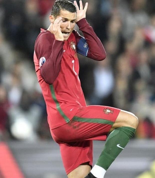 Cristiano Ronaldo fails