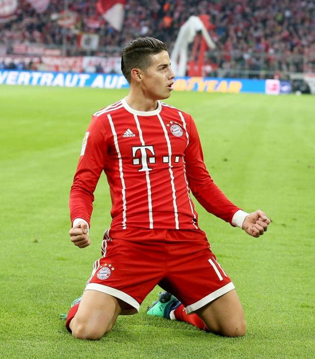 James Rodriguez Bayern Munich transfer fee
