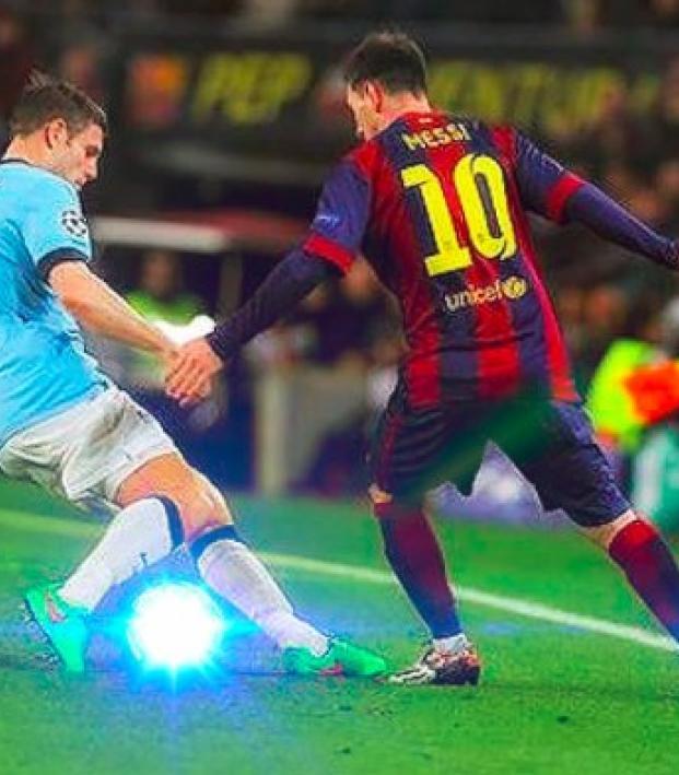 Messi nutmeg