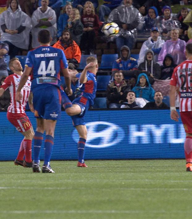 Riley McGree scorpion kick goal