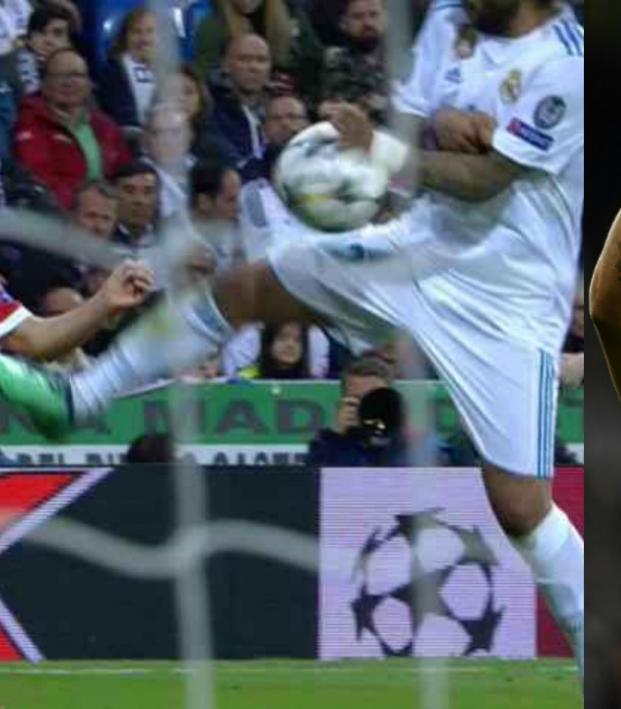 Marcelo admits handball vs Bayern Munich
