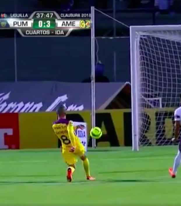 Mateus Uribe goal vs Pumas