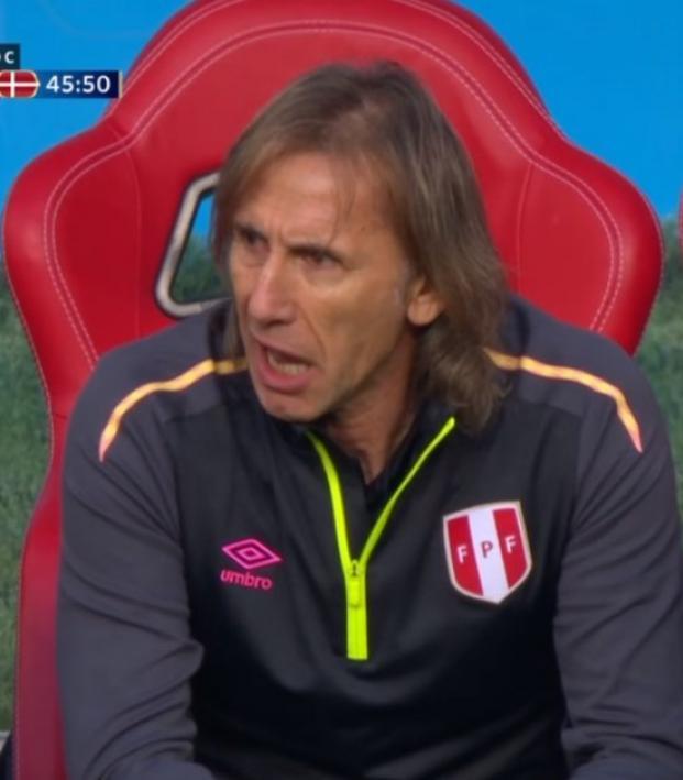Peru Coach Ricardo Gareca
