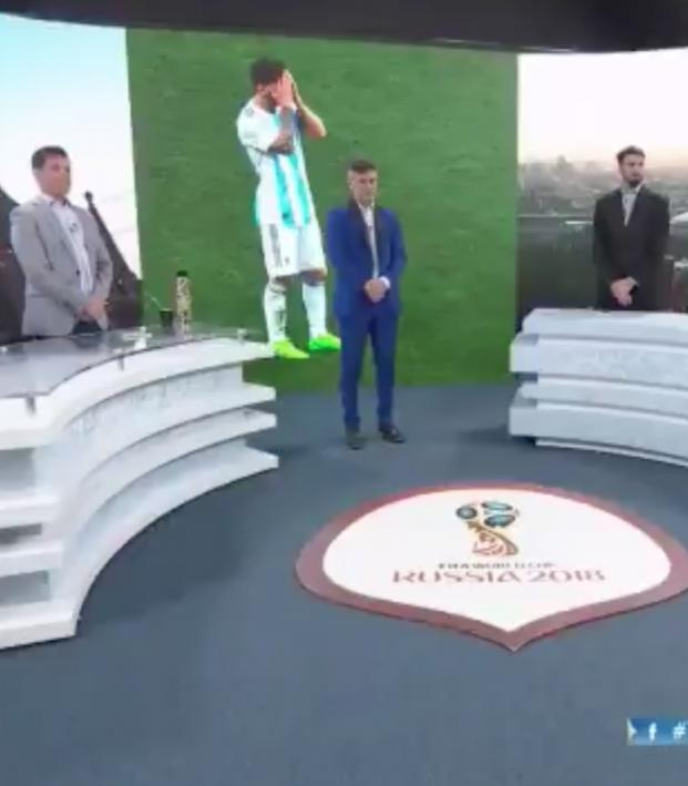 Argentine TV moment of Silence