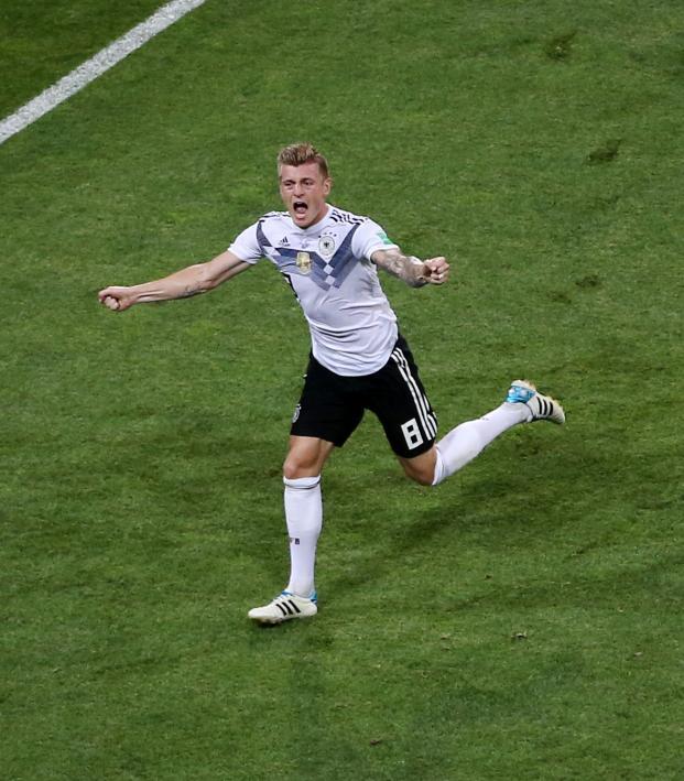 Kroos Goal Vs Sweden