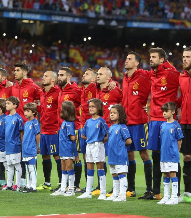 2018 World Cup Spain