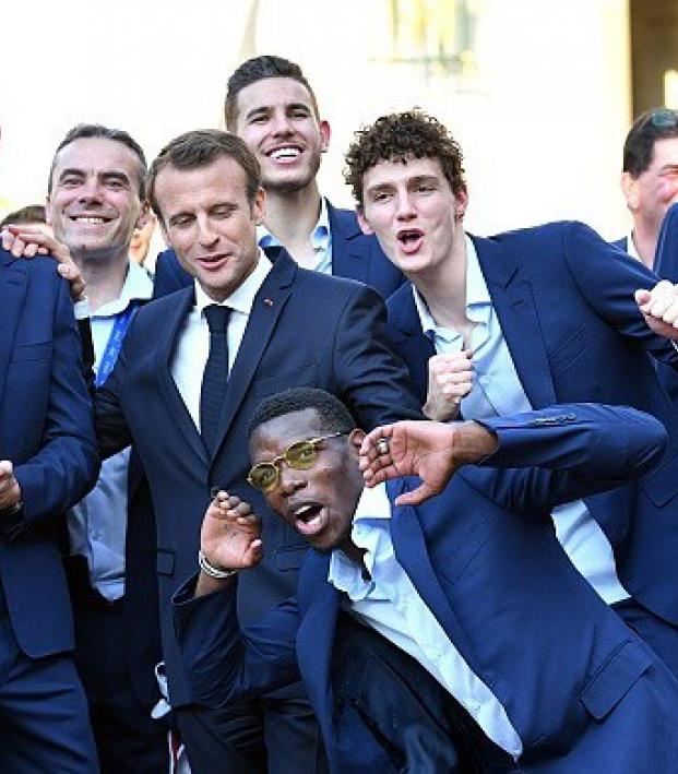 Paul Pogba France World Cup Celebrations