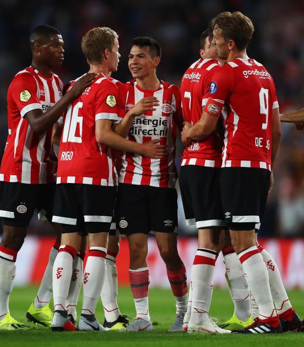new concept 6bddd 34e95 Smashing Chucky Lozano Goal Vs Utrecht Starts Season With Bang
