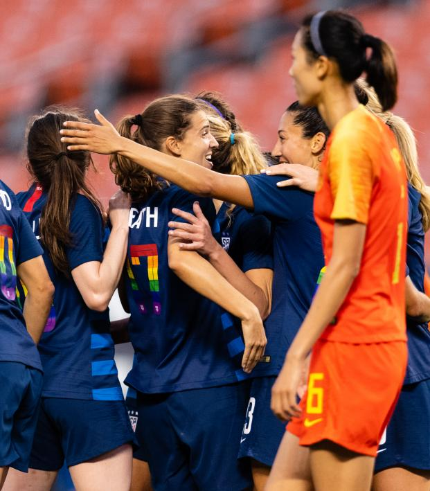 USWNT Roster vs Chile