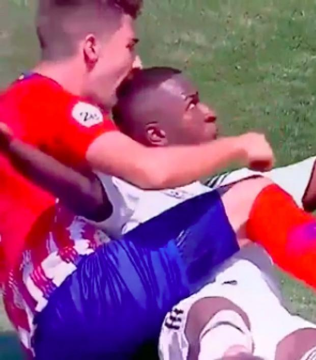 Vinicius Jr Real Madrid B goal