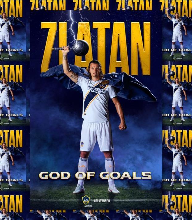 Zlatan's 500th Goal