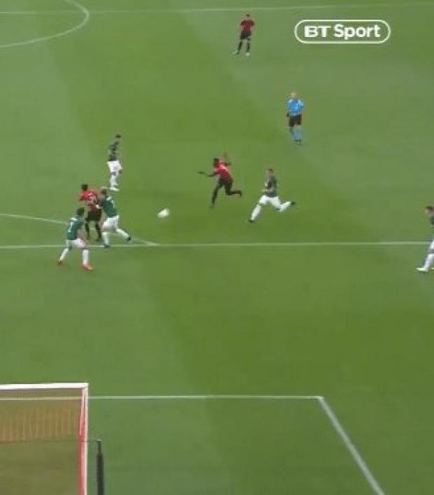 Ismaila Sarr Europa League goal