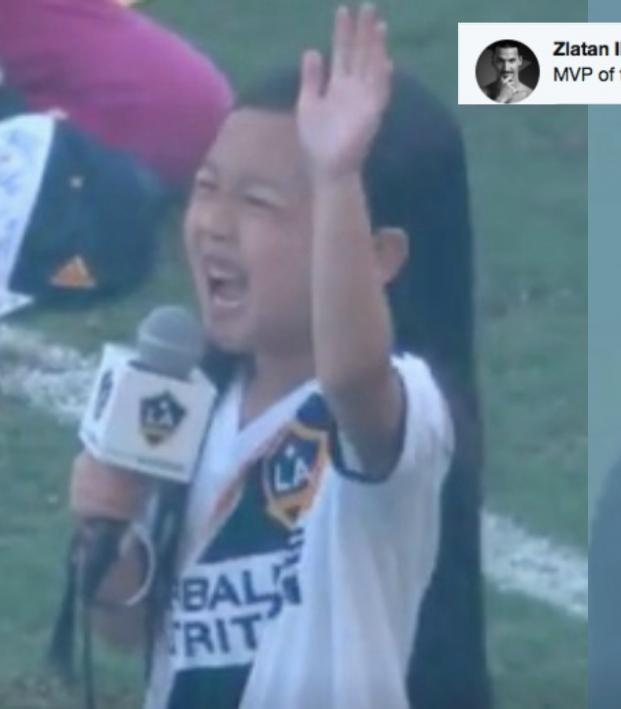 LA Galaxy national anthem