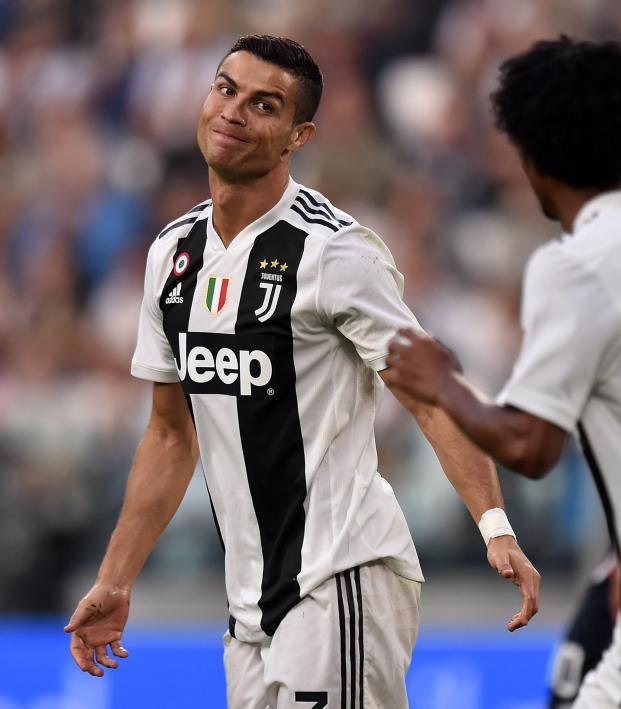 Ronaldo Goal vs Genoa