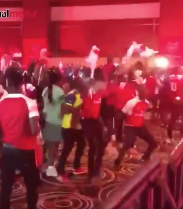 Nigerian Arsenal Fans