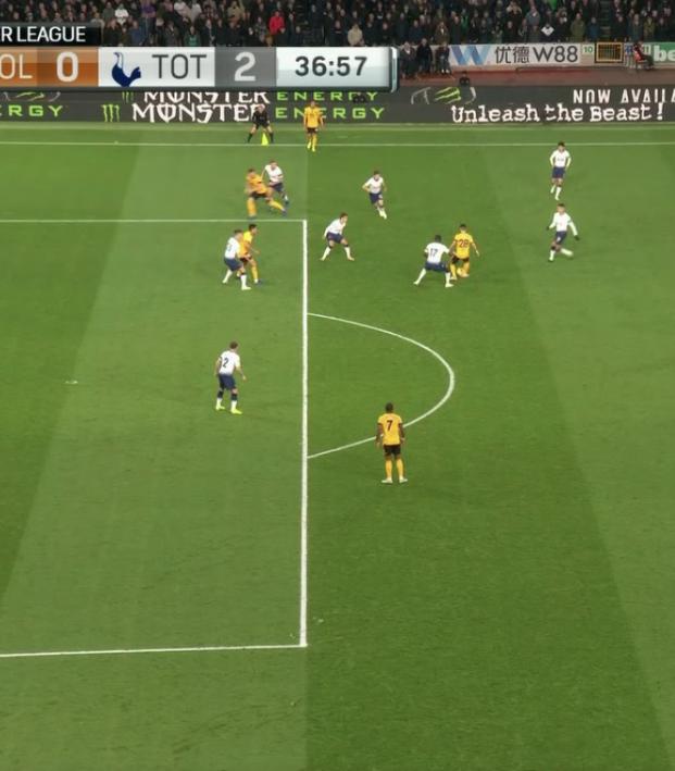 Wolves Disallowed Goal vs Tottenham
