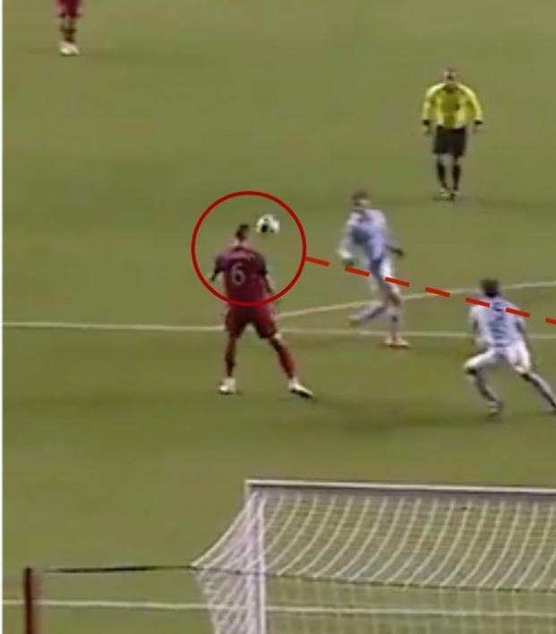 Albert Rusnak goal vs Sporting