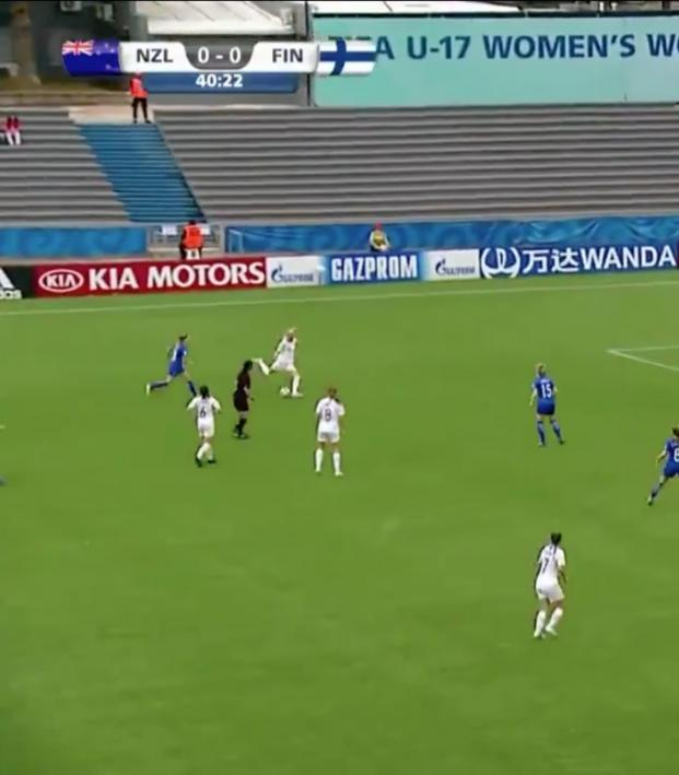 First Goal Of U-17 Women s World Cup Was Casual 40-Yard Chip 7c99cabc7