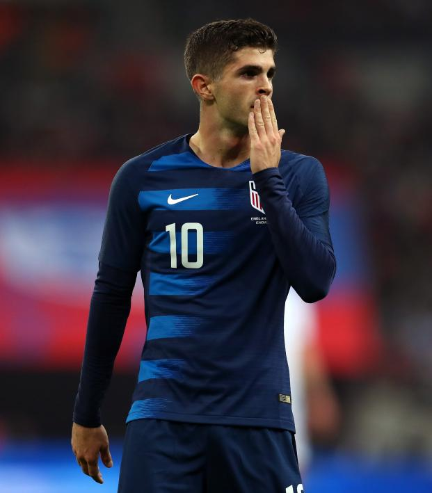 Christian Pulisic vs England