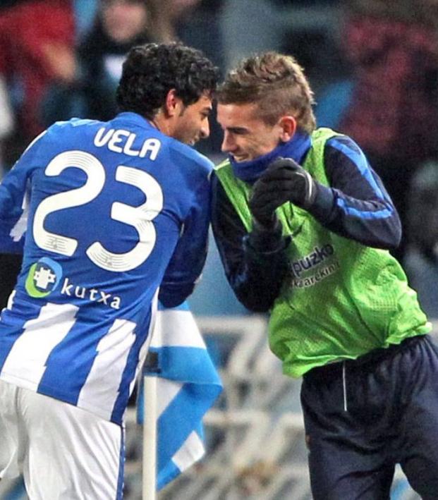 Carlos Vela and Antoine Griezmann