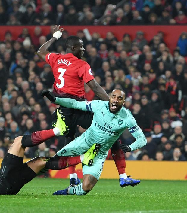 Man U vs Arsenal Highlights