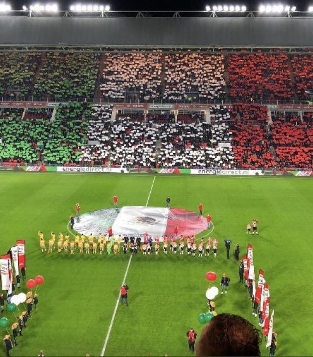 PSV Mexico Tifo
