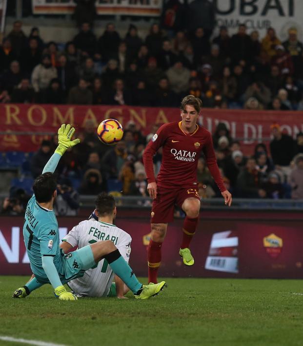 Nicolo Zaniolo Goal vs Sassuolo