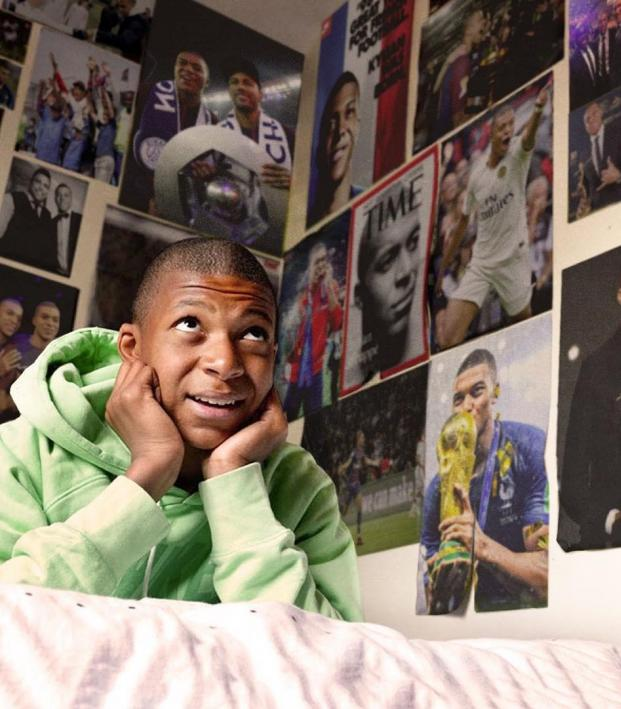 Kylian Mbappe Posters