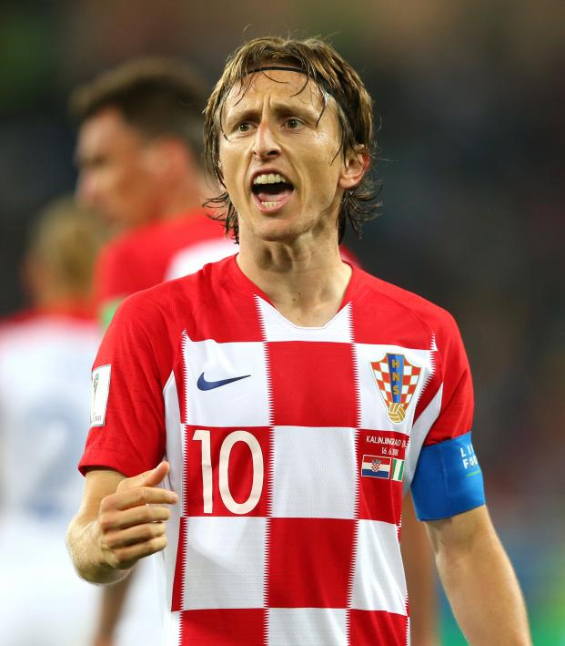 Luka Modric TOTY Stats