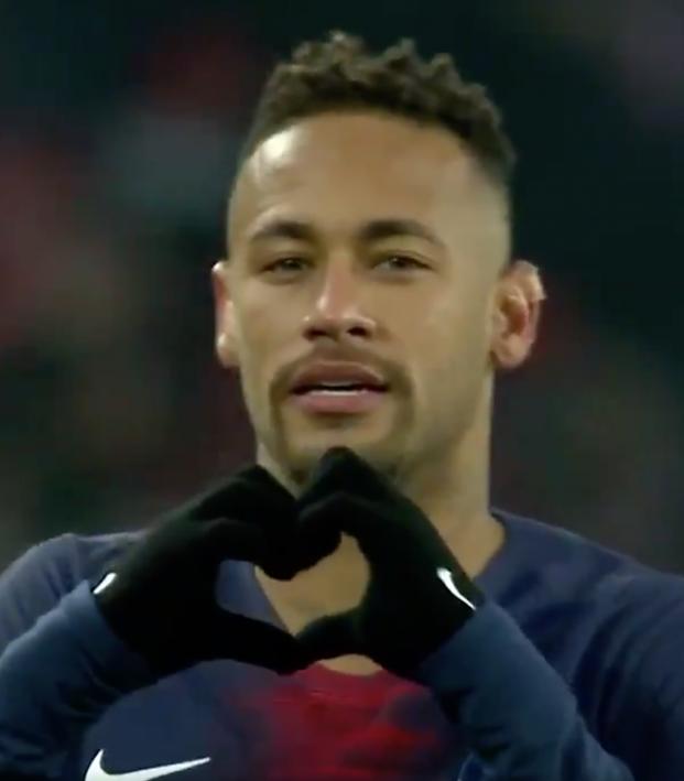 Neymar Sombrero vs Guingamp