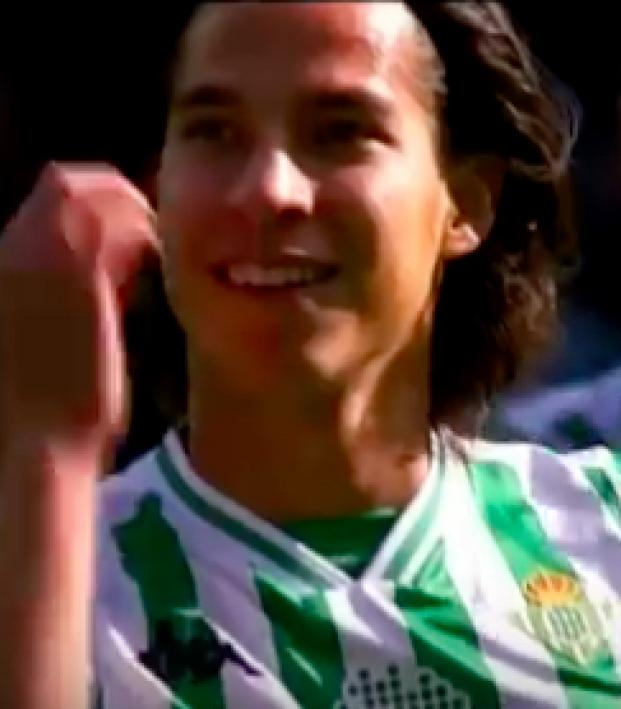 Diego Lainez Betis debut