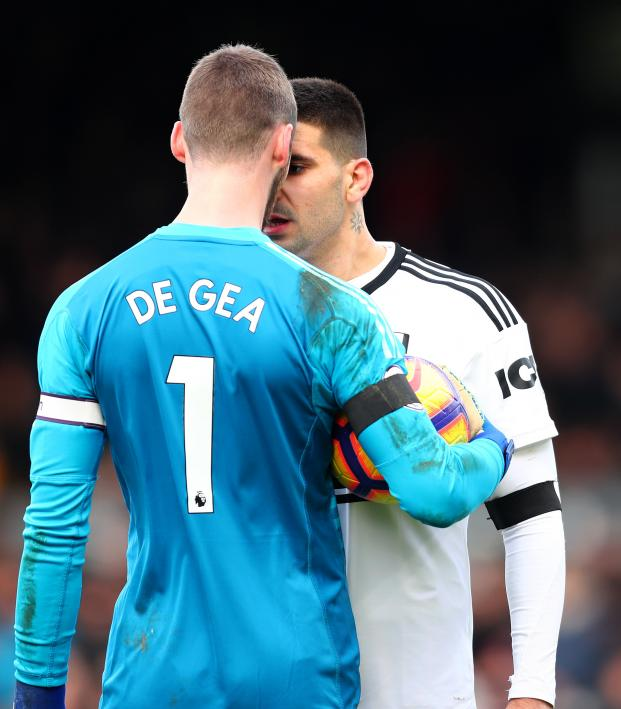 the latest af0a9 a9bd6 David de Gea vs Mitrovic Title Bout Nearly Happened Saturday