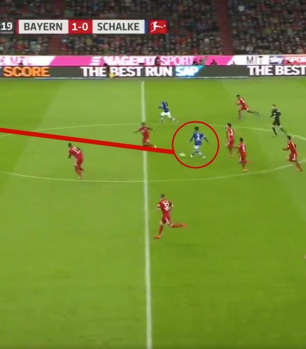 Weston McKennie vs Bayern Munich