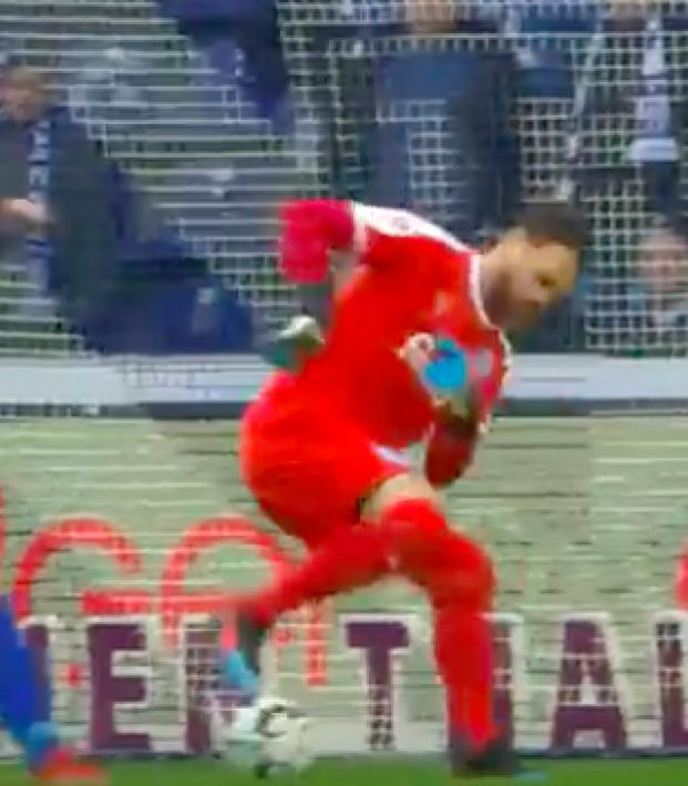 Kenneth Kronholm Zidane Turn