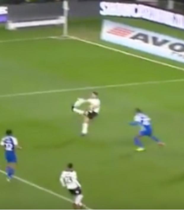 Mason Bennett wonder goal vs Wigan