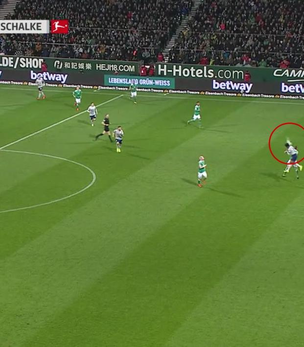 Weston McKennie Assist vs Werder Bremen