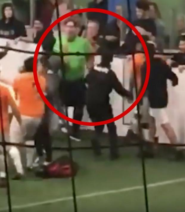 Wisconsin soccer referee punched