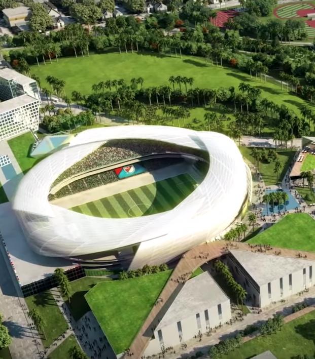 Inter Miami Stadium Site
