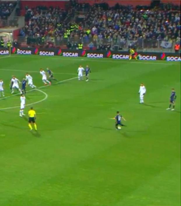 Miralem Pjanic free kick vs Greece