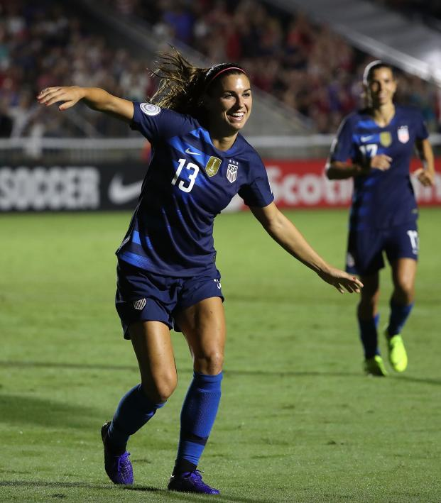 89688fd7990b Mia Hamm On Alex Morgan Time 100 Selection
