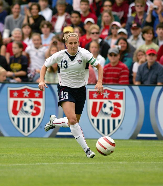 99d61c9c3da One-On-One With USWNT Legend Kristine Lilly