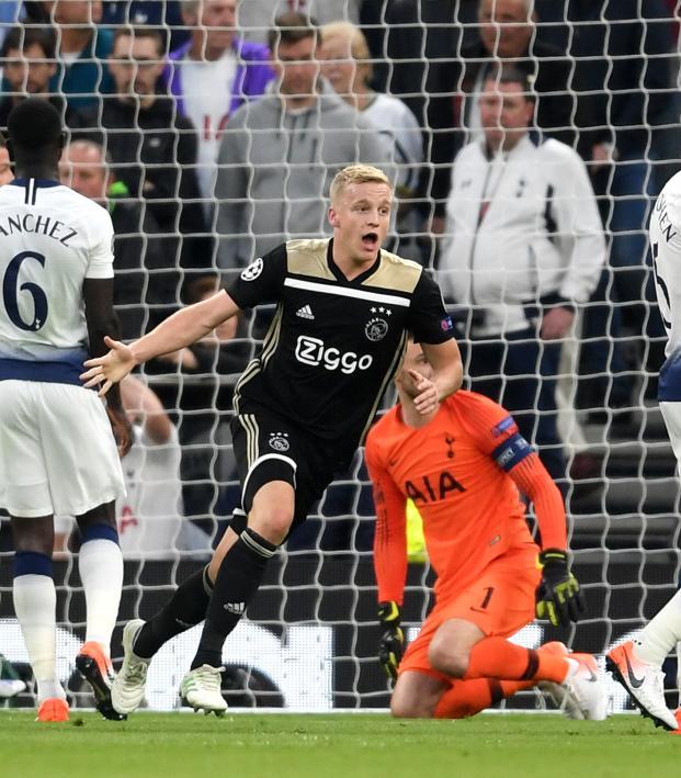 Spurs Vs Ajax Highlights First Leg: Watch Donny Van De