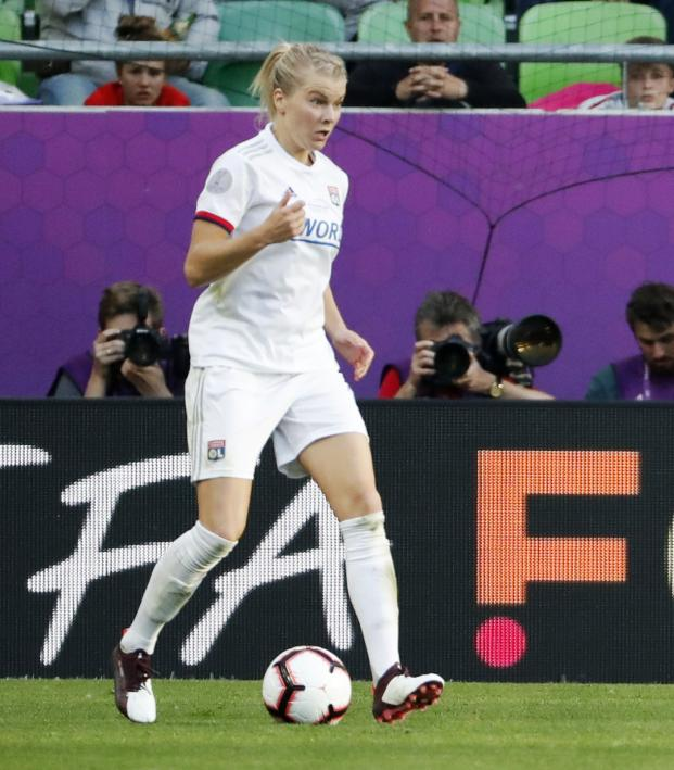 Champions League Womens: Ada Hegerberg Scores Hat Trick In Women's Champions League