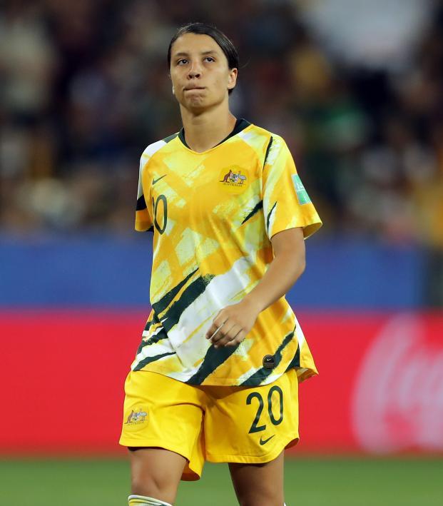 Sam Kerr Australia vs Norway Highlights