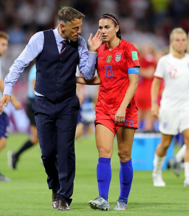 England vs USA