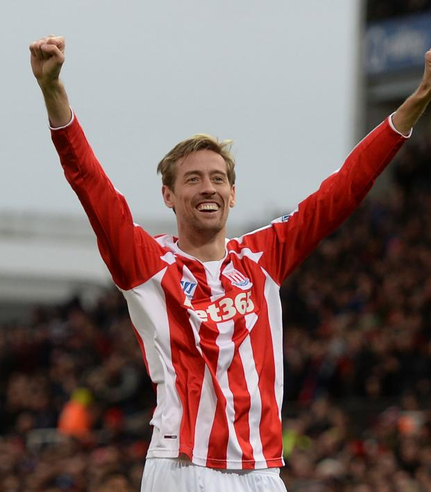 Is Peter Crouch Retired