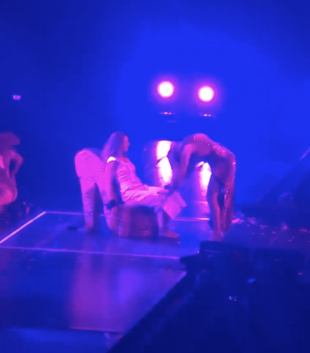 Carli Lloyd J-Lo Lap Dance